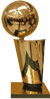 NBA  basketball league trophy